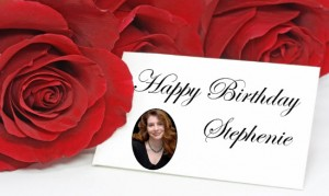Happy Birthday Stephenie