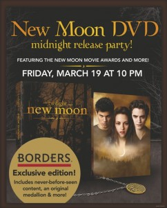 Borders New Moon Party