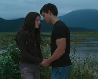 Eclipse trailer Jacob abd Bella