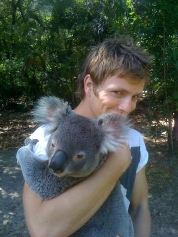 charlie-bewley-and-a-koala