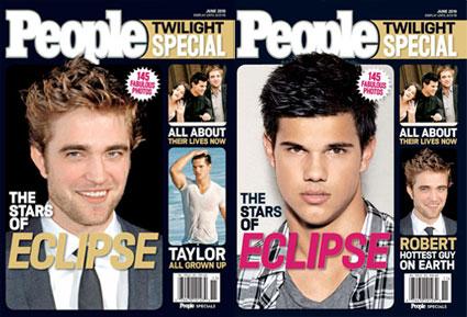 People Magazine: Edward vrs Jacob | Twilight Lexicon
