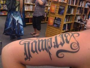 vampire tattoo