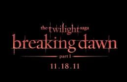Breaking Dawn title treatment