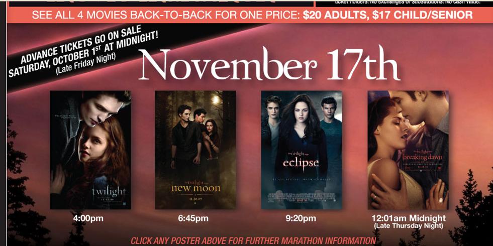 Cinemark Movie Showings