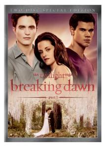 breaking dawn dvd