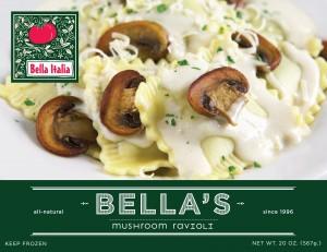 Bella's Mushroom Ravioli