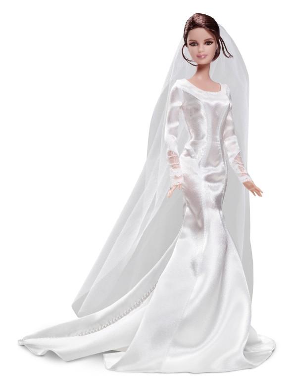barbie dolls featuring bella edward on their wedding day will be