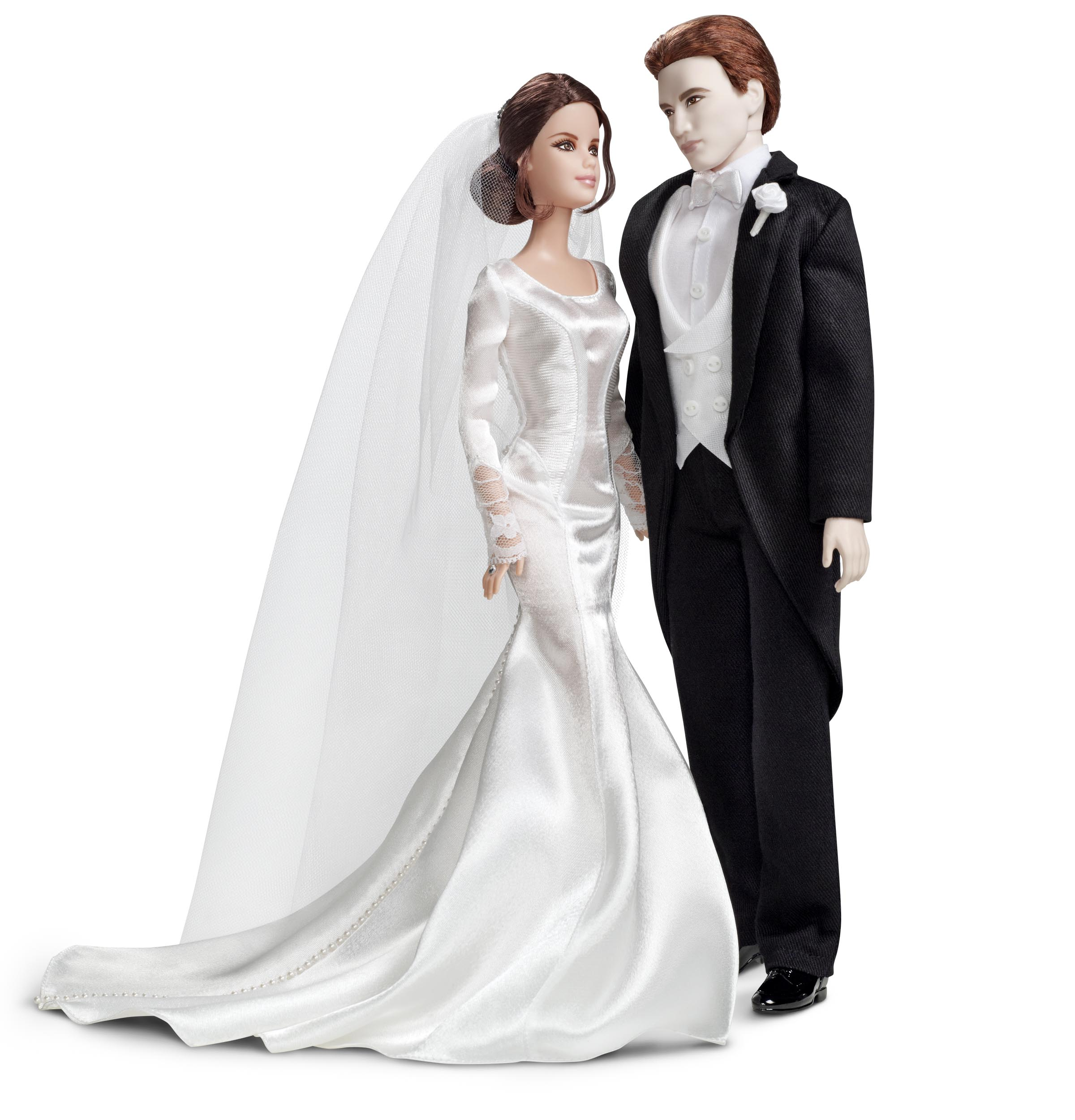 edward and bella wedding themed barbie and ken dolls twilight lexicon. Black Bedroom Furniture Sets. Home Design Ideas