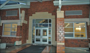 Forks high school main entrance
