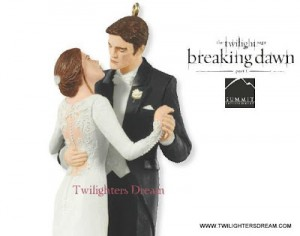 edward and bella wedding 2 2012 hallmark