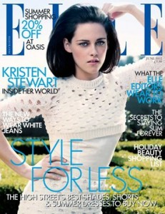 Kristen Stewart Elle on Video  Kristen Stewart Elle Cover And Swath News Kristen Stewart Elle
