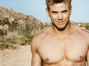 Shirtless Kellan