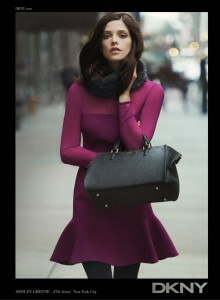 Ashley Greene DKNY Fall