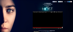 host site screen cap