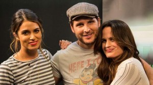 Peter, Nikki, and Liz at Comic Con 2012