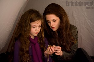 Mackenzie Foy Bella locket