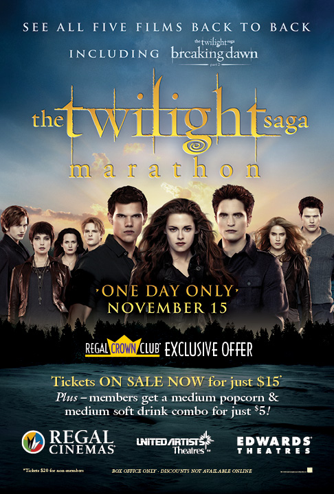 regal theatres announce twilight movie marathon sites twilight lexicon regal theatres announce twilight movie