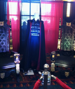 Volturi throne and costume