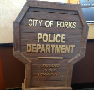 Forks Police Station Props