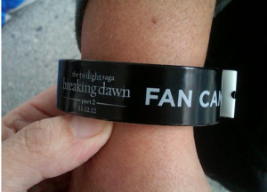 fancamp wristband