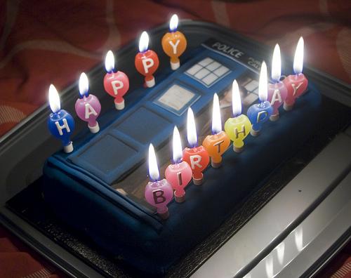 Tardis Cake Twilight Lexicon