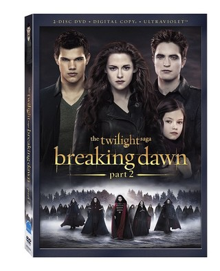 breaking dawn 2 dvd cover