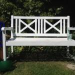 lawn bench