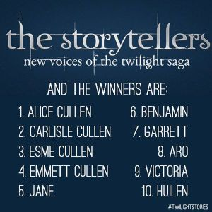 twilight stories winners